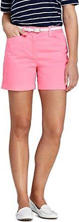 Lands End Stückgefärbte Chino-Shorts mit Stretch, 13 cm - Pink - 42 von Lands End