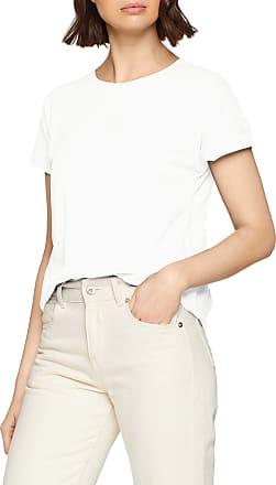 Jacqueline de Yong Womens JDYLOUISA S/S FOLD UP TOP JRS NOOS T - Shirt, Blue (Cloud Dancer Cloud Dancer), 16 (Size: XL)