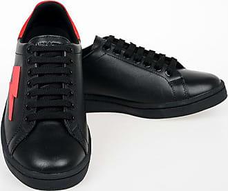 Neil Barrett Sneakers TENNIS TRAINER THUNDERBOLT con Ricamo taglia 39