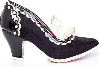 Irregular Choice Seaside Paddle Womens Court Shoes (Black (Black C), Numeric_8)