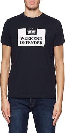 Weekend Offender Prison T-Shirt in Navy XL