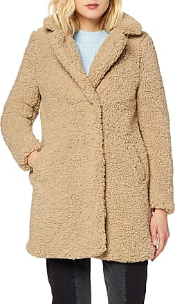 Noisy May Noisy may Womens Nmgabi L/S Jacket Noos Coat, Beige (White Pepper White Pepper), 10 (Size: S)