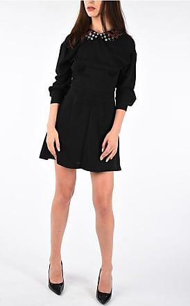 eb3a7d3124 Miu Miu Dress with Embroidered Collar size 40