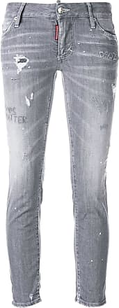 Dsquared2 distressed skinny jeans - Grey