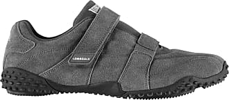 b90cf4894753b Lonsdale Herren Fulham Turnschuhe Freizeit Sneaker Klettverschluss Sport  Schuhe