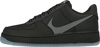 Nike Mens AIR Force 1 07 LV8 3 Basketball Shoe, Black Silver Lilac Anthracite White, 10.5 UK