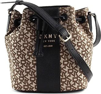 DKNY Noho Bucket bag black/brown