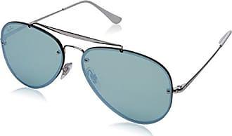 Ray-Ban 0rb3584n90513058blaze Aviator Non-Polarized Iridium Sunglasses, SILVER, 58 mm