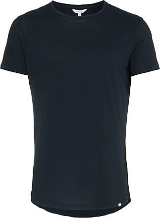 Orlebar Brown Camiseta de alfaiataria decote careca - Azul