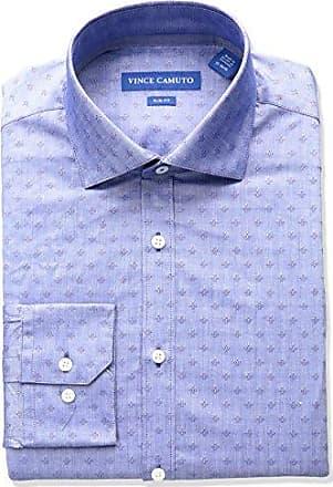 4328df766c4 Vince Camuto Mens Slim Fit Spread Comfort Collar Dress Shirt