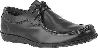 Lotus Black Aaron Leather Casual Shoes 11