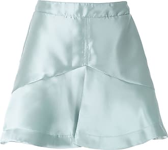OLYMPIAH panelled Magno skirt - Green