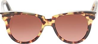 Philipp Plein Leopard Print Sunglasses Womens Brown