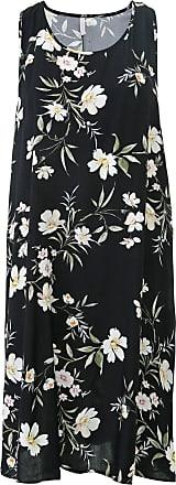 Lez a Lez Vestido Lez a Lez Curto Floral Preto/Verde