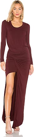 Young Fabulous & Broke Shayna Dress in Burgundy