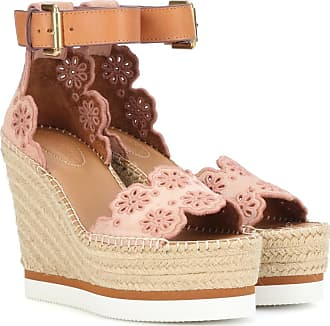 See By Chloé Glyn Wedge Espadrille sandals