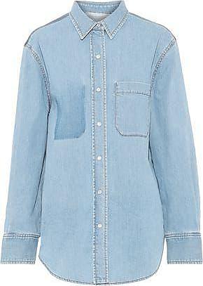 Stella McCartney Stella Mccartney Woman Denim Shirt Light Denim Size 40