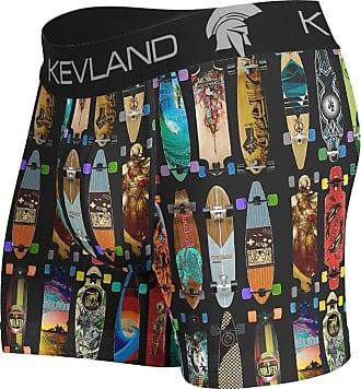 Kevland Underwear CUECA BOXER LONGBOARDS PRETO KEVLAND (1, GG)