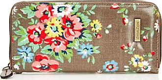 Swankyswans Womens Classic Print Zip Around Wallet LWZ-CLASSIC FLORAL Grey