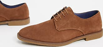 Burton Menswear suede derby shoes in tan