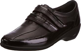 Padders Womens Velvet Loafers 612/38 Black,5.5 UK(38.5 EU)