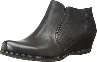 Dansko Womens Luann Ankle Boot, Black Burnished Nubuck, 36 M EU (5.5-6 US)