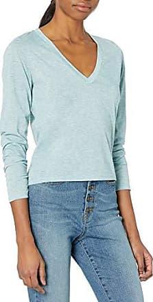 Tresics Womens Trendy Basic Junior V-Neck Shirt Tail Tee with Pocket T-Shirt
