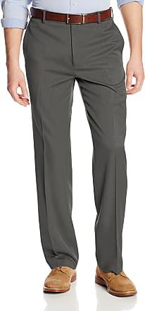 Van Heusen Mens 505M001 Dress Pants, Dark Charcoal, 38W x 32L
