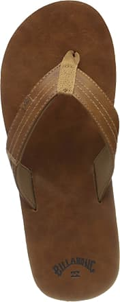 Billabong Mens Seaway Classic Flip Flops, Brown (Antique 1871), 9.5 UK