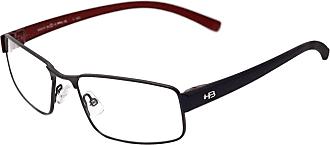 HB Óculos de Grau Hb Duotech 93417/54 Grafite/azul Bordo