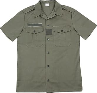 Generic French Army Issue Short Sleeve Shirt. Camo Or Olive