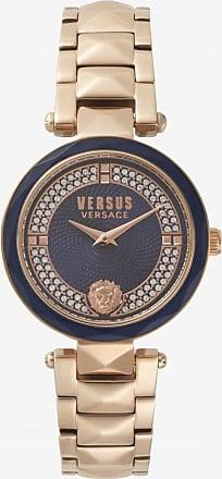 Acotis Limited Versus Watches Ladies Stainless Steel Dressy 2 Hands Quartz Blue Watch