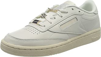 Reebok Womens Club C 85 Gymnastics Shoe, Chalk/Paperwhite/Pure Grey 3, 6.5 UK