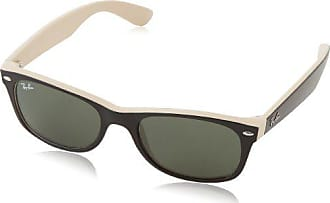 de90c7845 Ray-Ban 0RB2132 945 52 Square Sunglasses,Black/Beige,52 mm