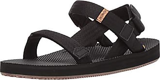Freewaters Mens Supreem Sport Cage Sandal w/Universal Fit 4-Pt Strap-in Closure w/Arch Support, Black 10 Medium US