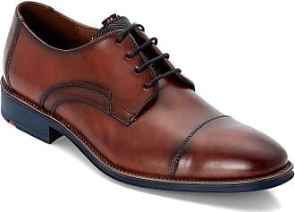 Lloyd Men Business Shoes Griffin, Men´s Lace-Up Flats,Low Shoe,lace-up Shoe,Derby Lacing,Suit Shoe,Dress Shoe,Office,Cioccolato/Ocean,10 UK / 44.5 EU
