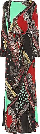 Etro Printed crêpe gown