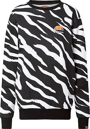 Ellesse Sweatshirt schwarz / weiß