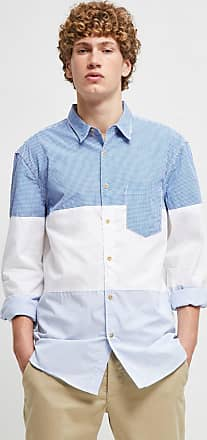 French Connection Horizontal Cut Panels Shirt
