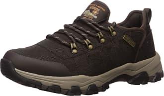 Skechers Mens SELMEN-Norden Trail Oxford Hiking Shoe, Chocolate, 8.5 Medium US