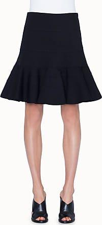 Akris Jersey Godet-skirt