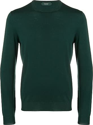 Zanone fine knit sweater - Green