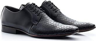 Di Lopes Shoes Sapato Social Masculino 100% Couro (41, Preto)