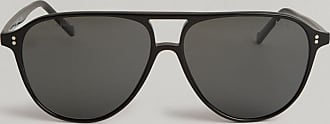 Hackett Double Bridge Pilot Sunglasses | Black