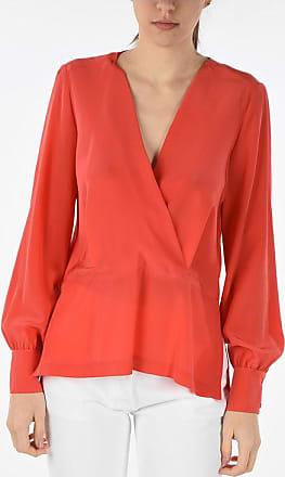 Pinko blusa COLTO in seta con scollo a V taglia 38