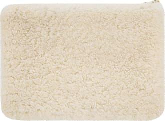 UGG Sheepskin Zip Pouch - Natural - Large