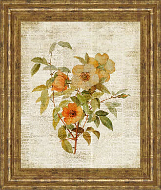 Classy Art Roses on Newsprint I Framed Wall Art - 8148