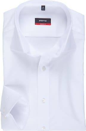 Eterna Modern Fit Langarmhemd von Eterna in Weiss für Herren