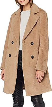 New Look Damen Mantel Mantel Kingston 6058480, Grün (Light Khaki 33), 38 (Herstellergröße: 10)
