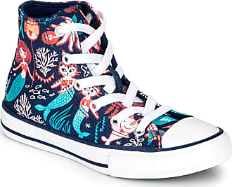 Converse Chuck Taylor All Star Underwater Party Trainers Filles Blue - UK:9.5 Toddler - Hi top Trainers